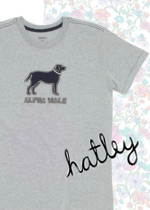 Hatleyアップリケ付きTシャツ24