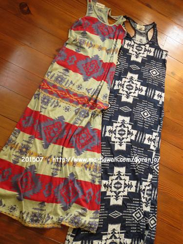 2015年8月 夏セールで買ったのはタンクドレス