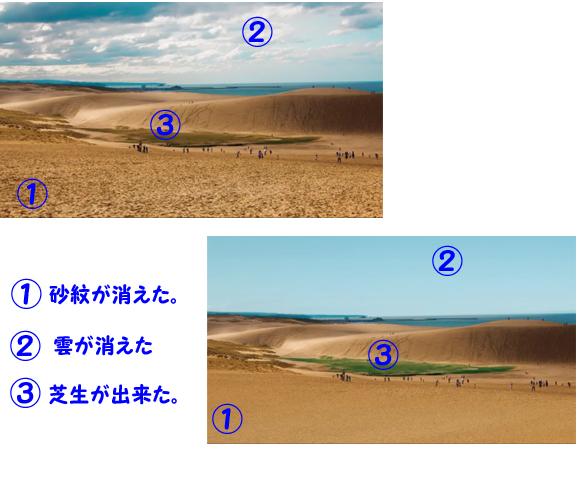 鳥取砂丘問題の答え