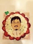 院長ケーキ