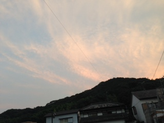 高知夕空1