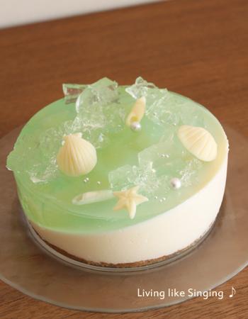 海のゼリーケーキ④