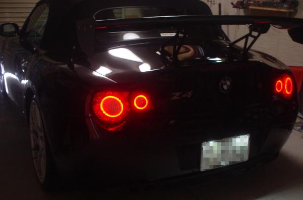 Z4テールランプ加工
