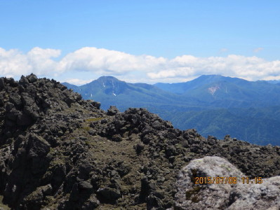 石狩岳とニペソツ山_1