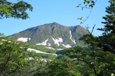 トムラウシ山が見えた