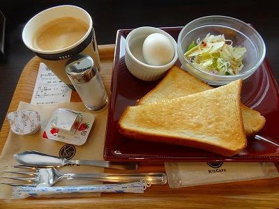 ケーズ カフェ サークルK岡崎りぶら店 モーニング