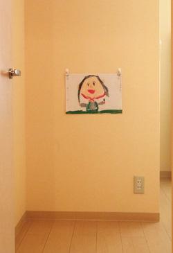 子供の作品を飾る場所