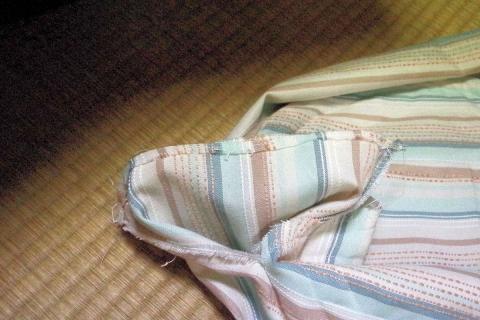 試作の風景 円形猫ベッド
