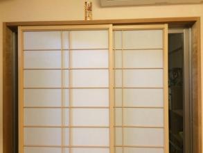 マンション室内物干しで窓枠に物干しとDIYする