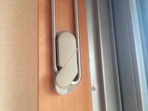マンション室内物干し 川口技研 ホスクリーン MDL型 左右1組 MDL-LB ライトブロンズ