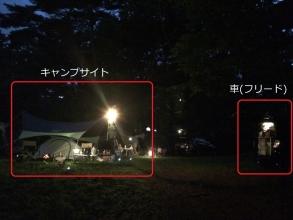 松原湖高オートキャンプ場でケシュアとフリード