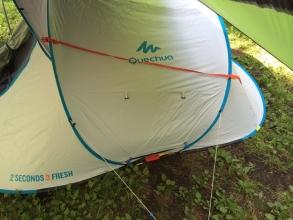 【楽キャンプ】ケシュアQuechua 2SECONDS EASY 3 FRESH 徹底分析♪
