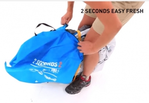 Quechua 2SECONDS EASY 3 FRESH撤収7