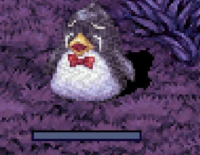 ペンギン泣いてる