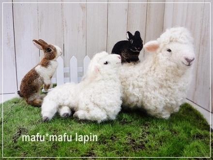 2015.羊毛作品
