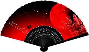 Bz RED 扇子