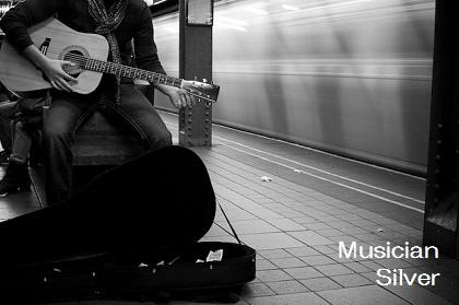 Musician - Silver