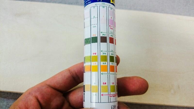 水槽水質検査