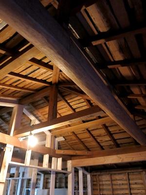 Motoリフォーム小屋丸太1501