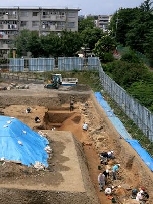 伏見指月城発掘現場1506