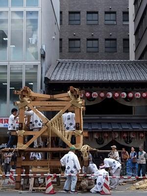 祇園祭鉾立て1507
