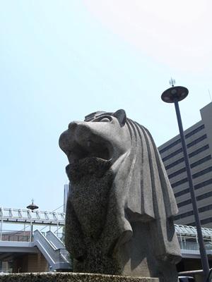 守口市駅マーライオン1508