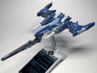 宇宙戦闘機っぽいシルエット