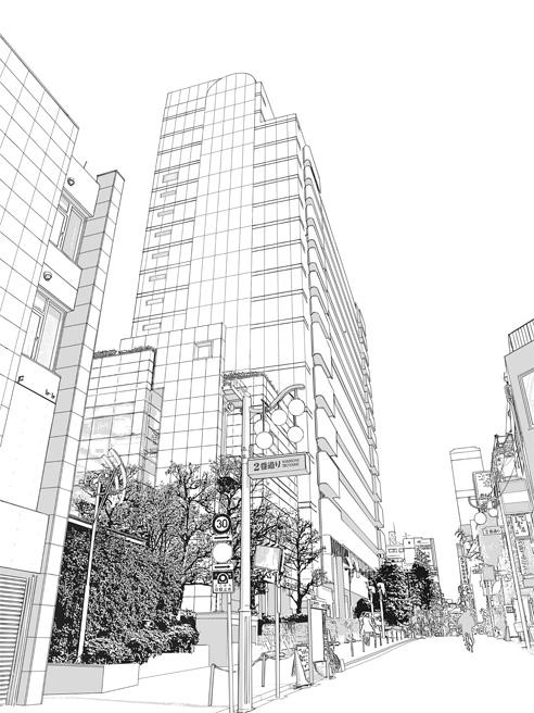 漫画背景・写真加工・病院001