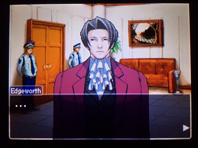逆転裁判 北米版 エッジワースの悪夢の記憶9