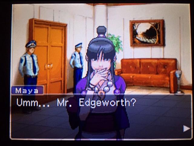逆転裁判 北米版 エッジワースの悪夢の記憶10
