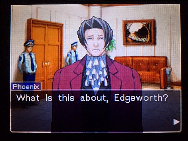 逆転裁判 北米版 エッジワースの悪夢の記憶23