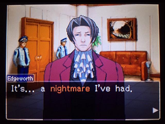 逆転裁判 北米版 エッジワースの悪夢の記憶24