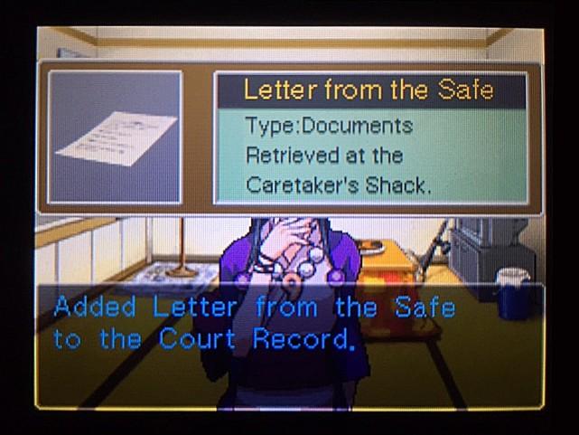 逆転裁判 北米版 手紙40