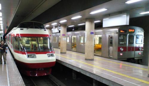 長野電鉄長野駅(27.5.26)