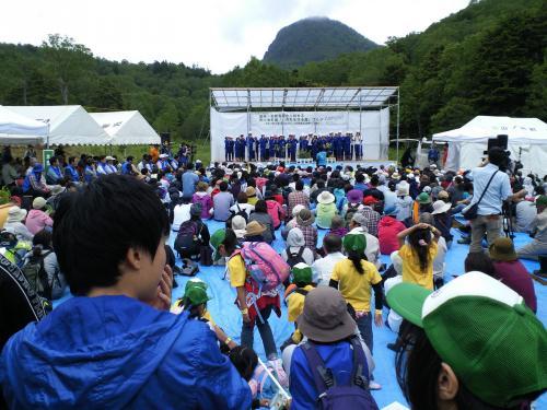 開会セレモニー(27.6.27)