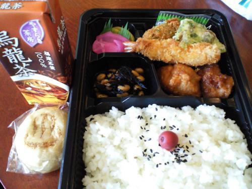 お昼(27.7.12)