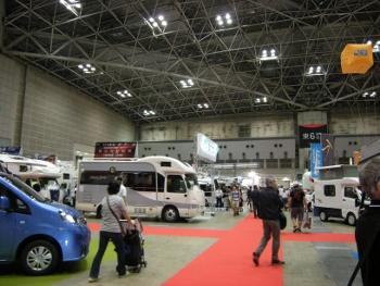 2015東京キャンピングカーショー1