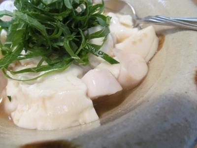 フグの白子豆腐アップ1