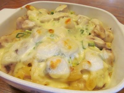 アヤメカサゴのチーズグラタン1