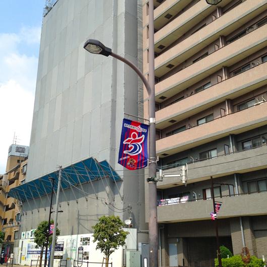 メガロス前のマンション6月末