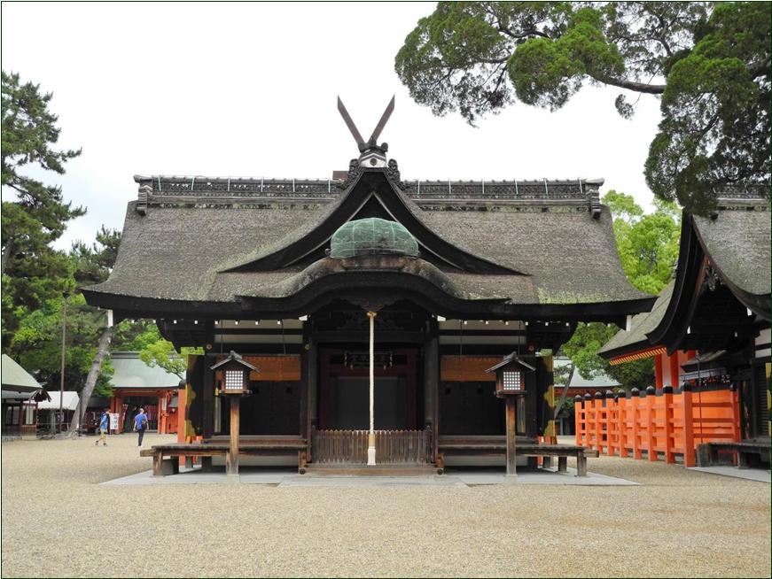 8-6-2 住吉大社第3拝殿ー1