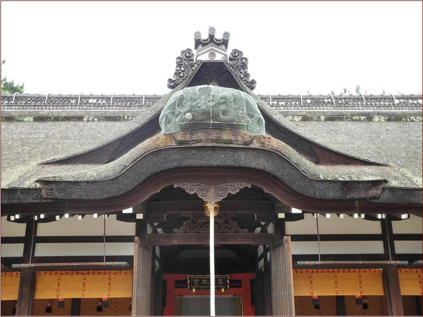 8-6-2 住吉大社第1拝殿外部ー1