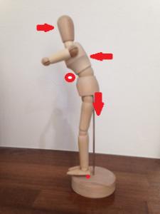 踵重心モデル