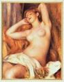 ルノワール10眠る裸婦