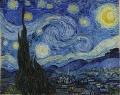 ゴッホ6星月夜The Starry Night
