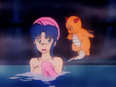 獣神ライガー 神代まいの胸裸入浴シーン97
