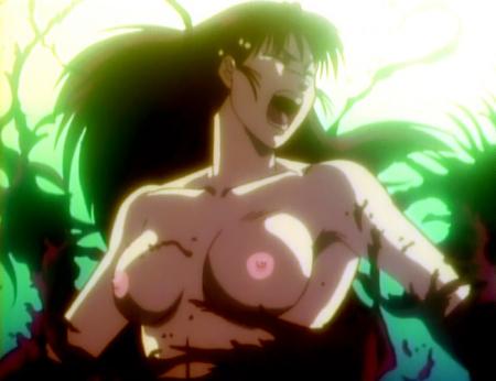 鬼切丸 小野節子の胸裸乳首32