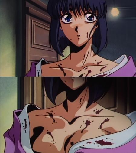 鬼切丸 良子の胸裸38