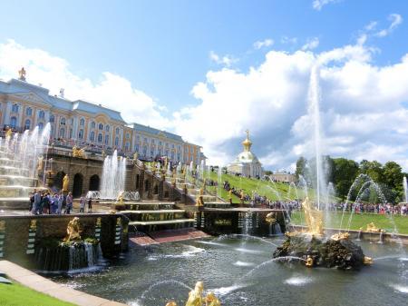 ペテルゴフ 噴水公園3