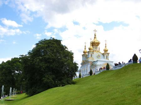 ペテルゴフ 噴水公園7